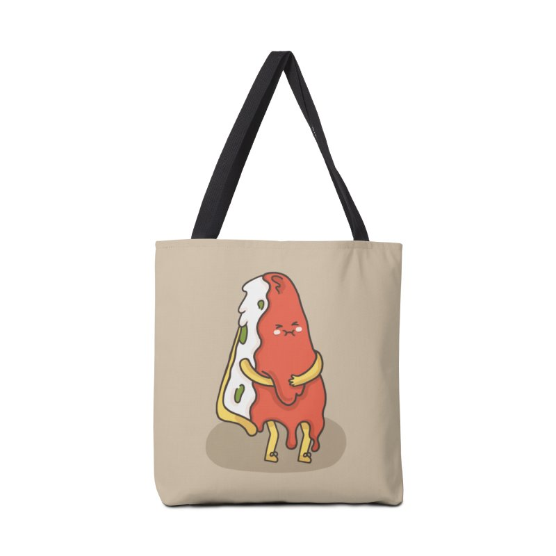 DEEP DISH PIZZA Accessories Tote Bag Bag by RiLi's Artist Shop