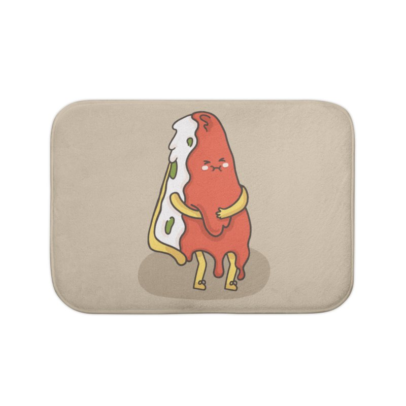 DEEP DISH PIZZA Home Bath Mat by RiLi's Artist Shop