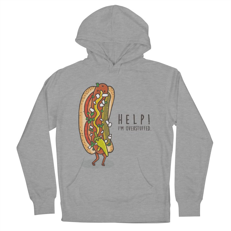 CARRYING TOO MUCH Women's Pullover Hoody by RiLi's Artist Shop