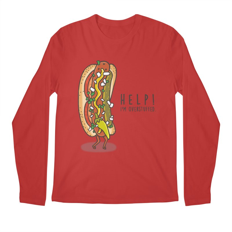 CARRYING TOO MUCH Men's Longsleeve T-Shirt by RiLi's Artist Shop