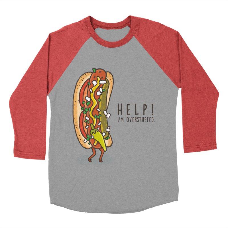CARRYING TOO MUCH Women's Baseball Triblend Longsleeve T-Shirt by RiLi's Artist Shop