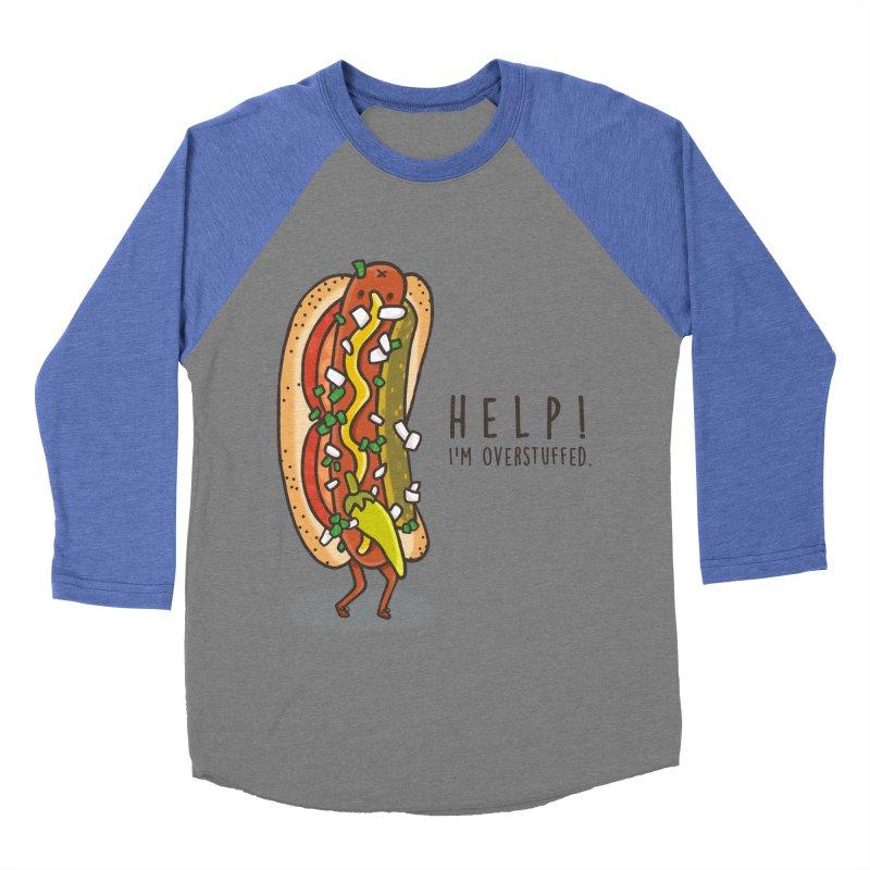 CARRYING TOO MUCH Men's Baseball Triblend T-Shirt by RiLi's Artist Shop