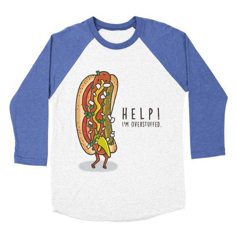 CARRYING TOO MUCH Men's Baseball Triblend Longsleeve T-Shirt by RiLi's Artist Shop