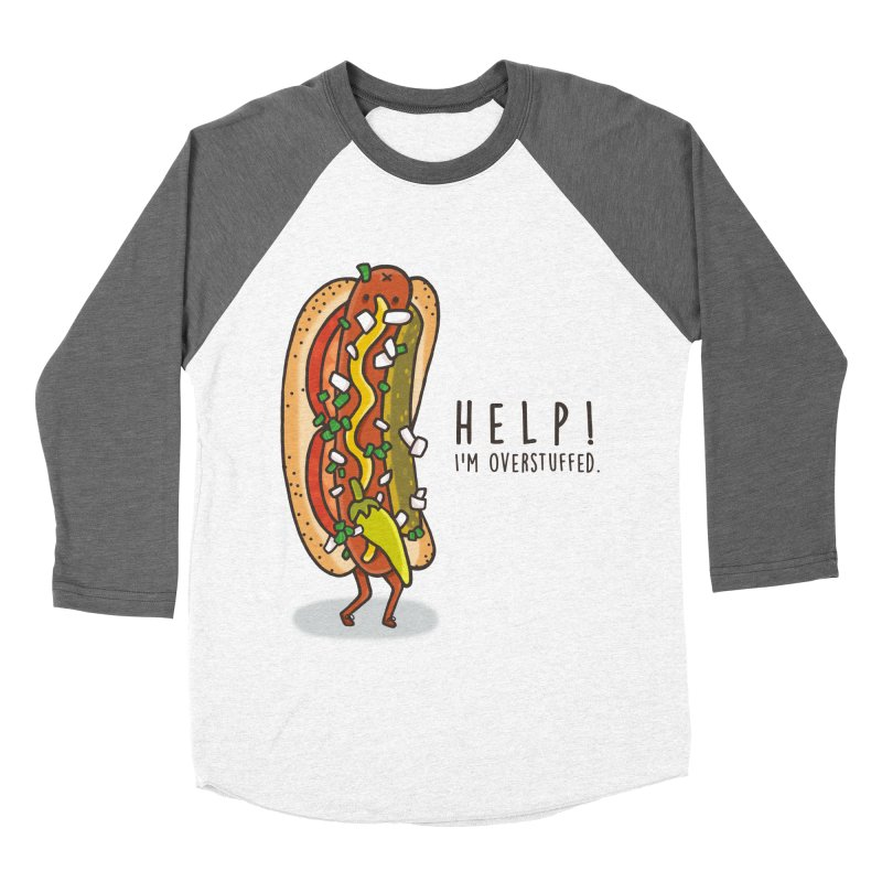 CARRYING TOO MUCH Men's Baseball Triblend Longsleeve T-Shirt by RiLi's Artist Shop
