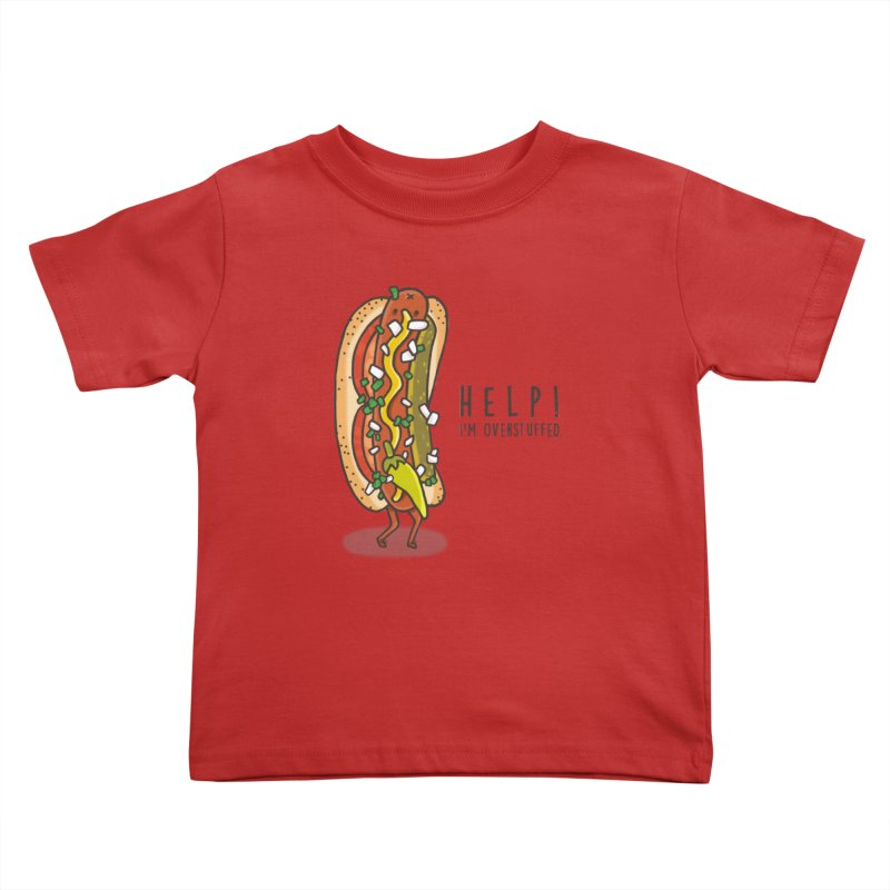 CARRYING TOO MUCH Kids Toddler T-Shirt by RiLi's Artist Shop