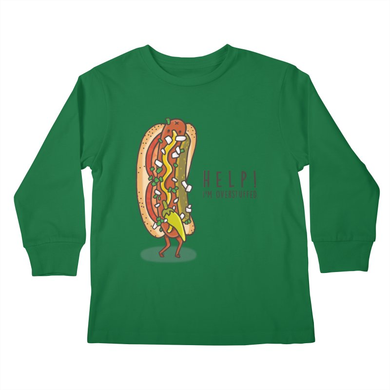 CARRYING TOO MUCH Kids Longsleeve T-Shirt by RiLi's Artist Shop