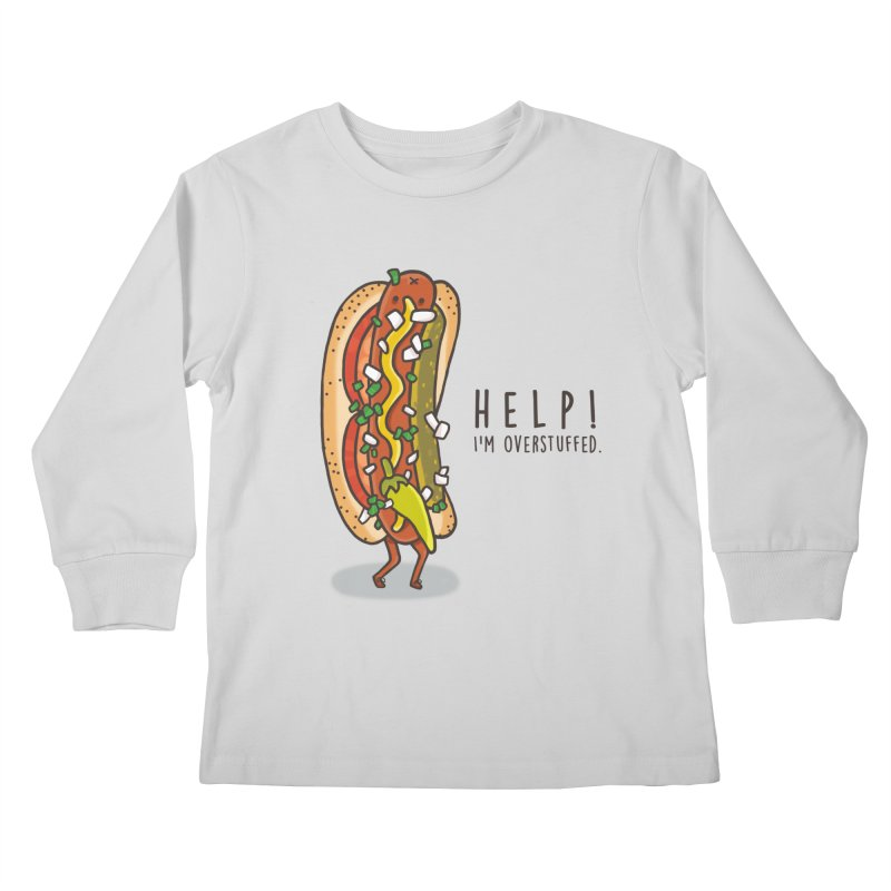 CARRYING TOO MUCH Kids Longsleeve T-Shirt by RiLi's Artist Shop