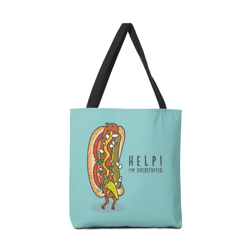 CARRYING TOO MUCH Accessories Tote Bag Bag by RiLi's Artist Shop