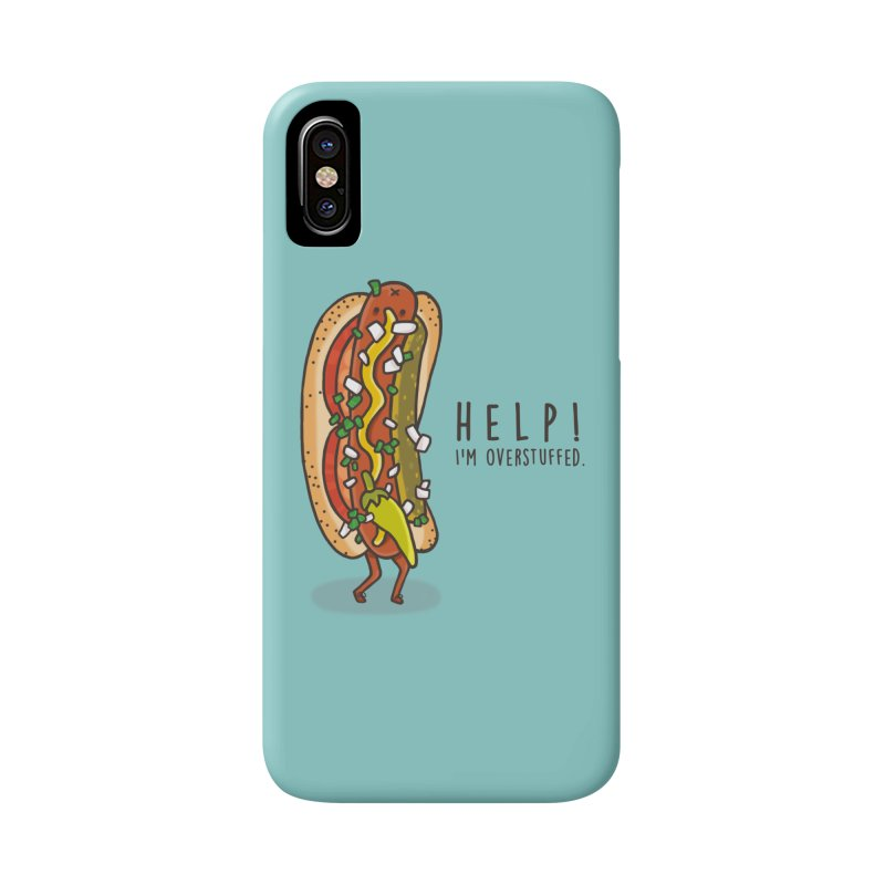 CARRYING TOO MUCH Accessories Phone Case by RiLi's Artist Shop