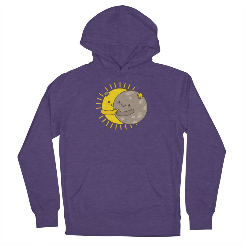 SOLAR ECLIPSE Women's French Terry Pullover Hoody by RiLi's Artist Shop