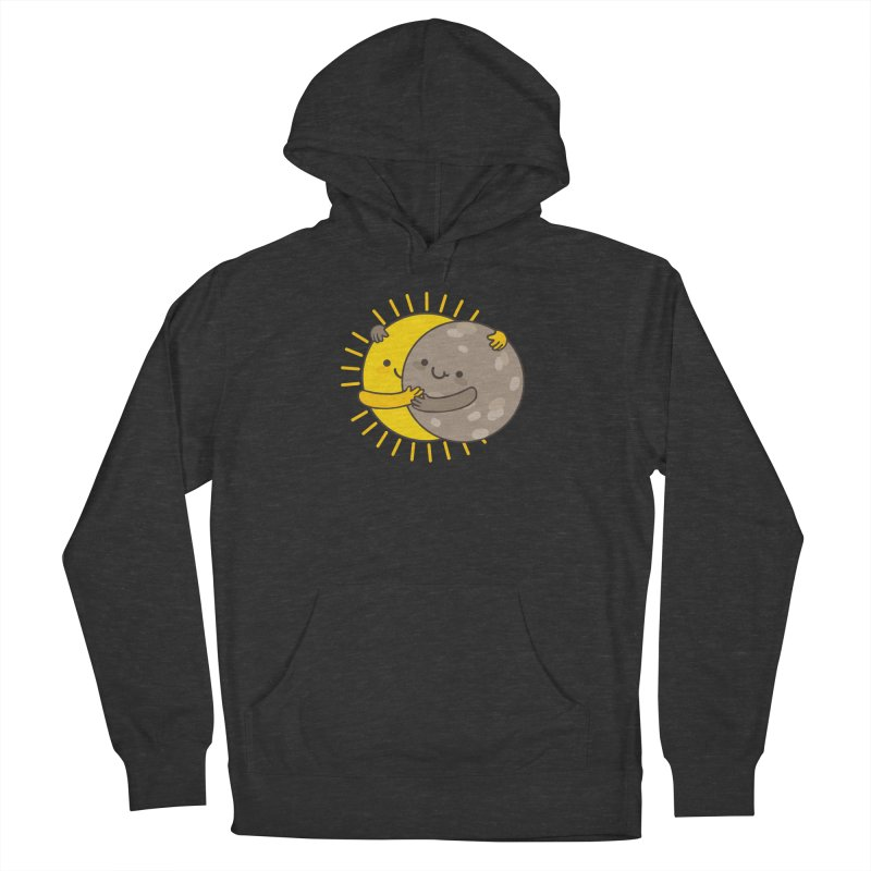 SOLAR ECLIPSE  Men's Pullover Hoody by RiLi's Artist Shop