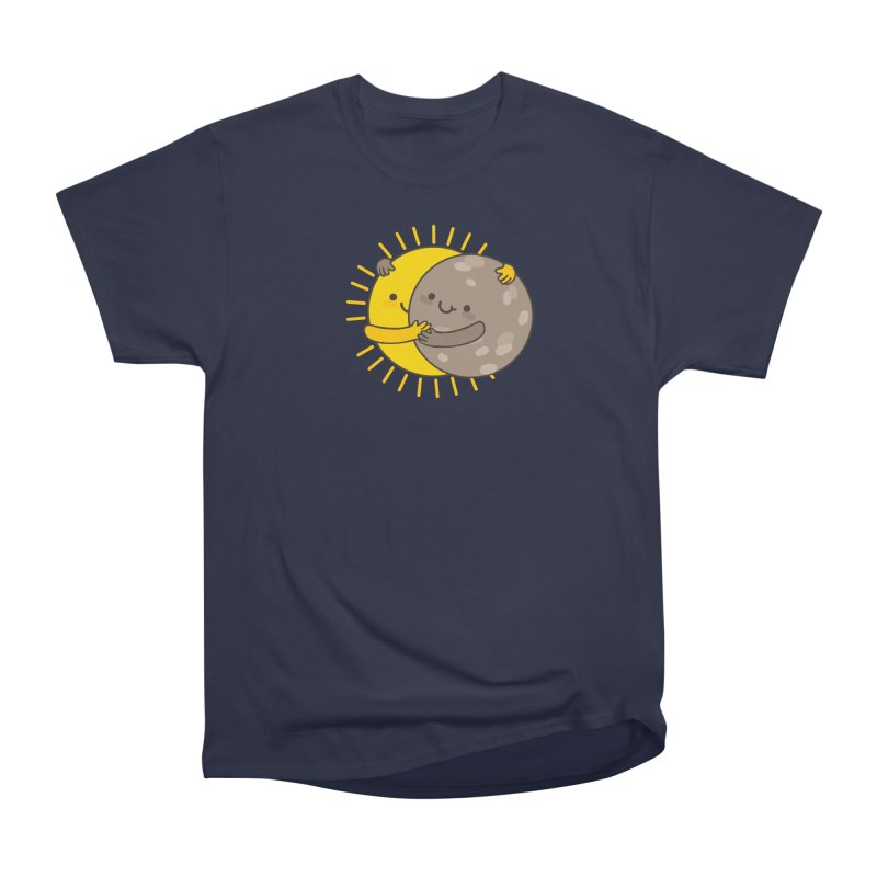 SOLAR ECLIPSE Women's Heavyweight Unisex T-Shirt by RiLi's Artist Shop