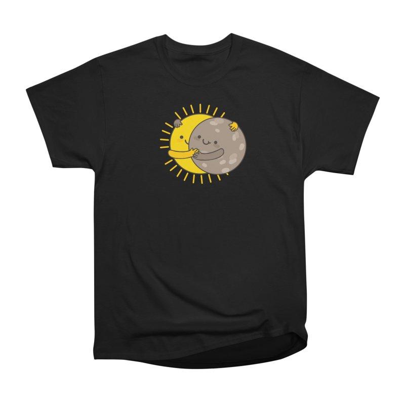 SOLAR ECLIPSE Men's Heavyweight T-Shirt by RiLi's Artist Shop