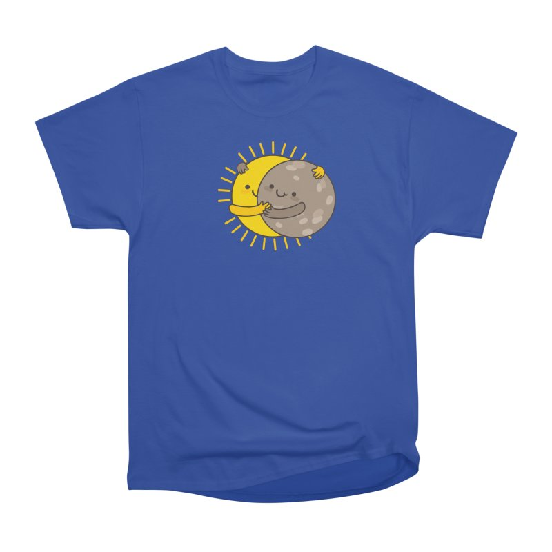 SOLAR ECLIPSE Men's Heavyweight T-Shirt by RiLi's Artist Shop