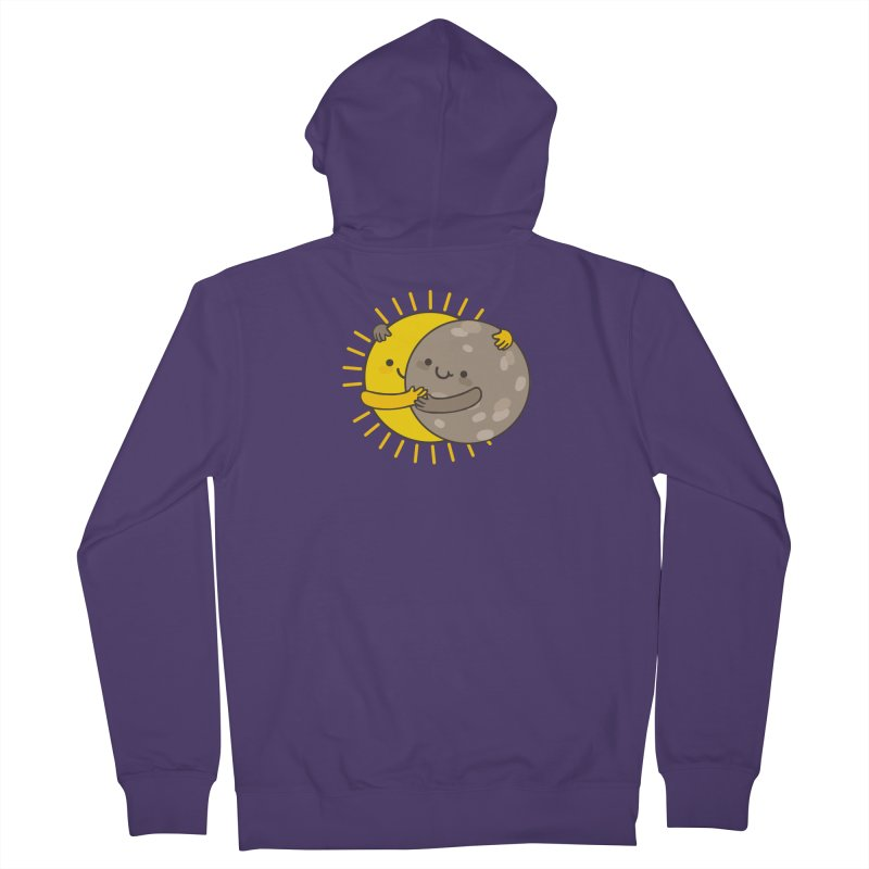 SOLAR ECLIPSE Women's Zip-Up Hoody by RiLi's Artist Shop
