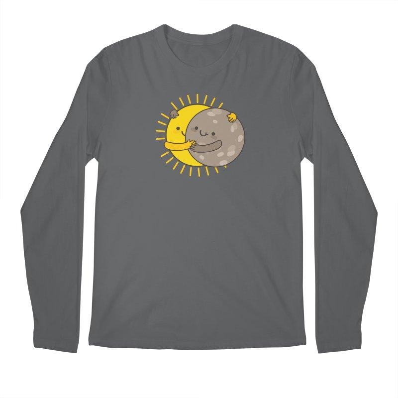 SOLAR ECLIPSE Men's Longsleeve T-Shirt by RiLi's Artist Shop