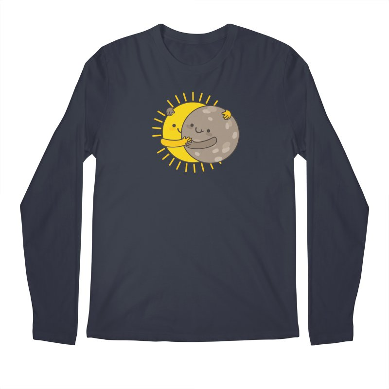 SOLAR ECLIPSE  Men's Longsleeve T-Shirt by RiLi's Artist Shop