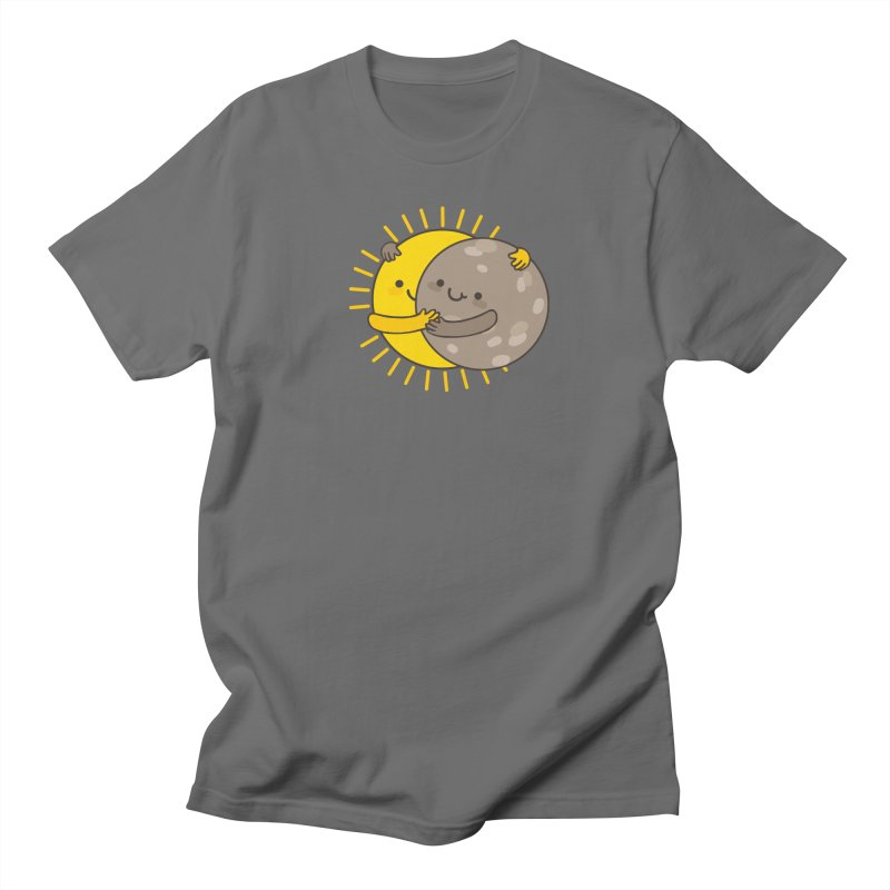SOLAR ECLIPSE Men's Regular T-Shirt by RiLi's Artist Shop