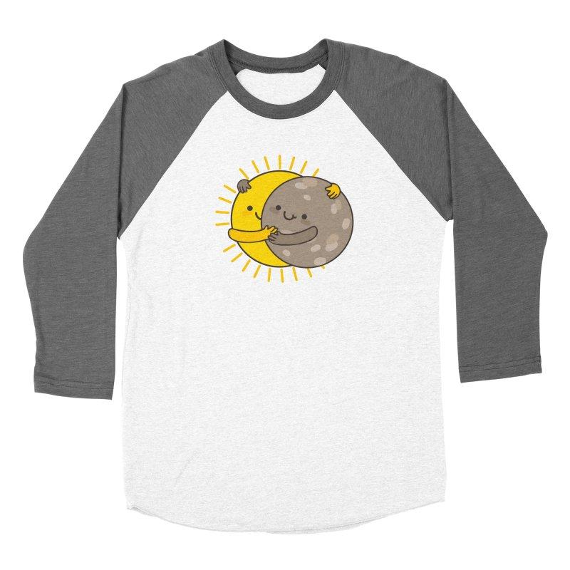 SOLAR ECLIPSE  Women's Baseball Triblend T-Shirt by RiLi's Artist Shop