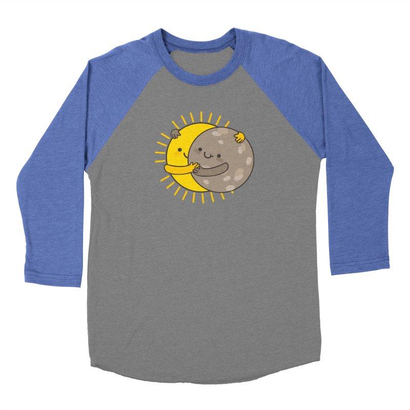 SOLAR ECLIPSE  Men's Baseball Triblend T-Shirt by RiLi's Artist Shop
