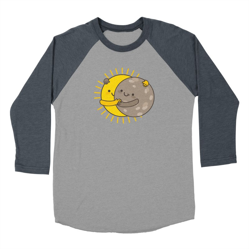 SOLAR ECLIPSE Men's Baseball Triblend Longsleeve T-Shirt by RiLi's Artist Shop