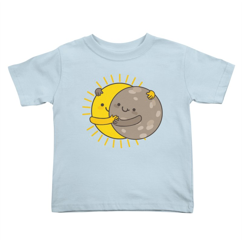SOLAR ECLIPSE Kids Toddler T-Shirt by RiLi's Artist Shop