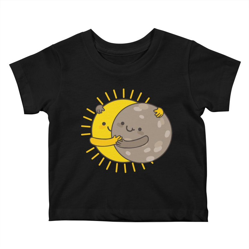 SOLAR ECLIPSE Kids Baby T-Shirt by RiLi's Artist Shop