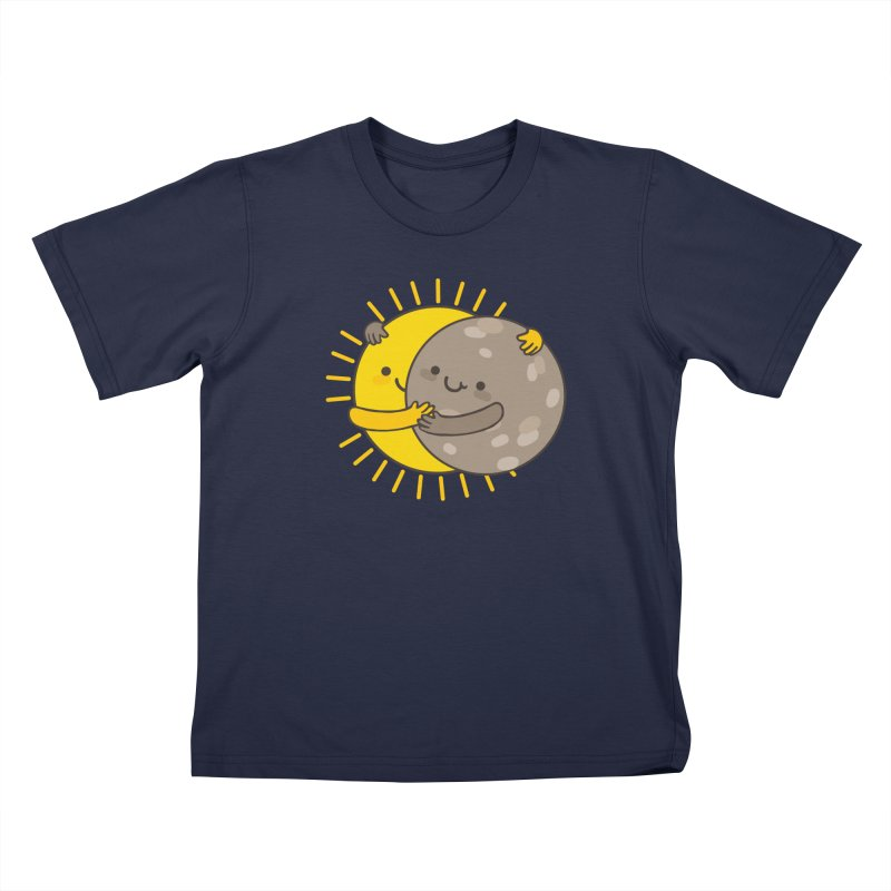 SOLAR ECLIPSE Kids T-Shirt by RiLi's Artist Shop