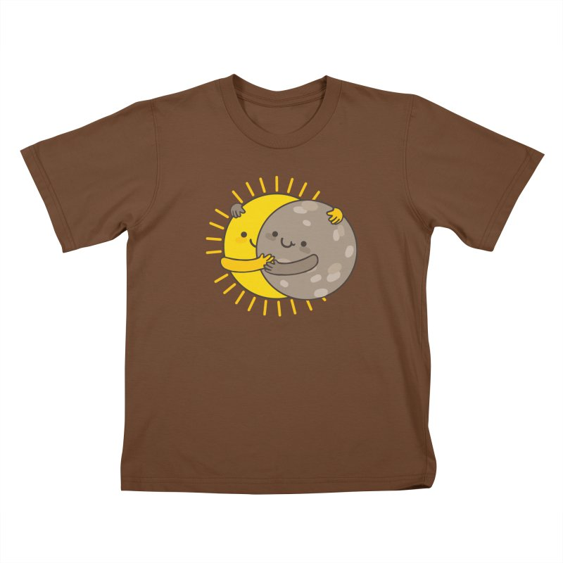SOLAR ECLIPSE  Kids T-Shirt by RiLi's Artist Shop