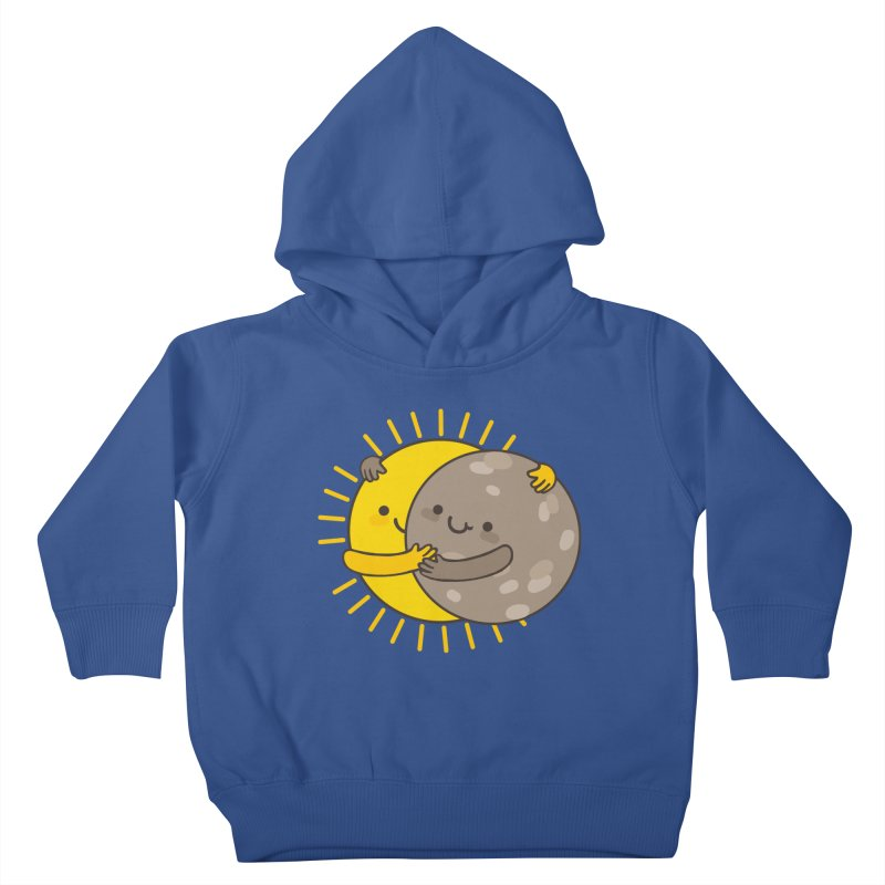 SOLAR ECLIPSE  Kids Toddler Pullover Hoody by RiLi's Artist Shop