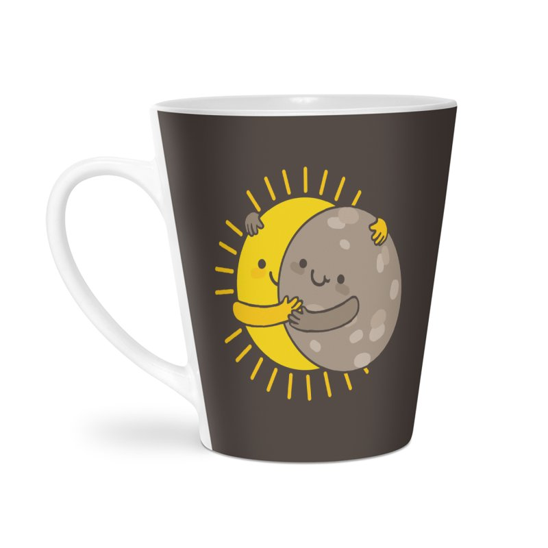 SOLAR ECLIPSE Accessories Latte Mug by RiLi's Artist Shop
