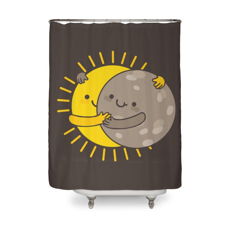 SOLAR ECLIPSE  Home Shower Curtain by RiLi's Artist Shop