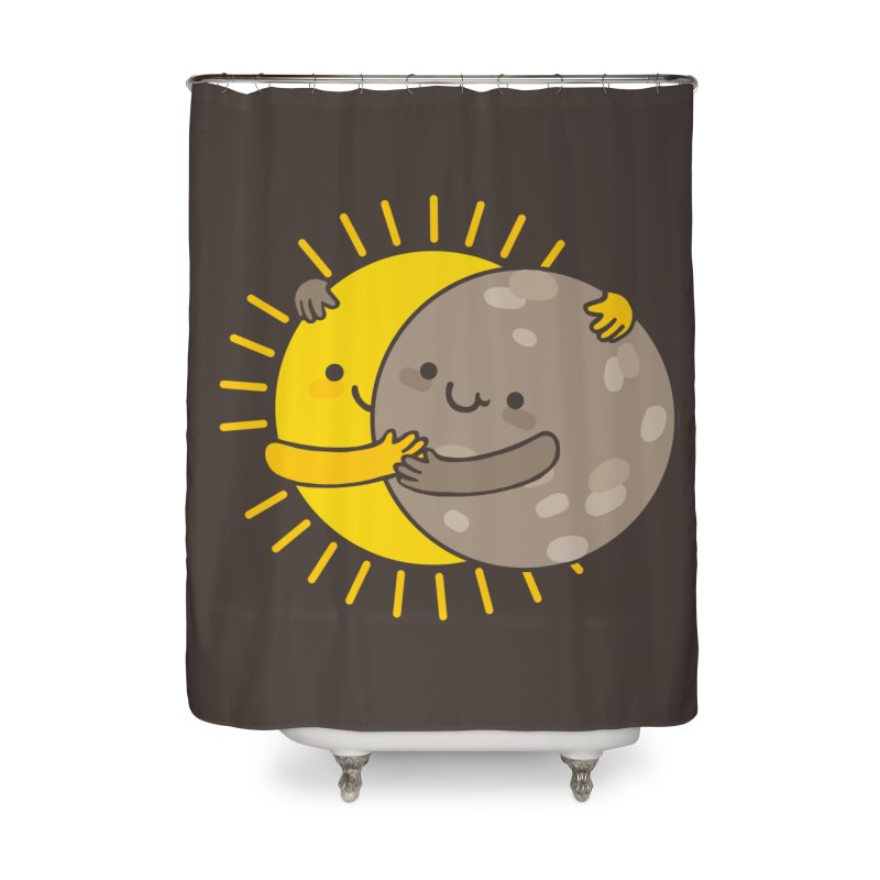 SOLAR ECLIPSE Home Shower Curtain by RiLi's Artist Shop