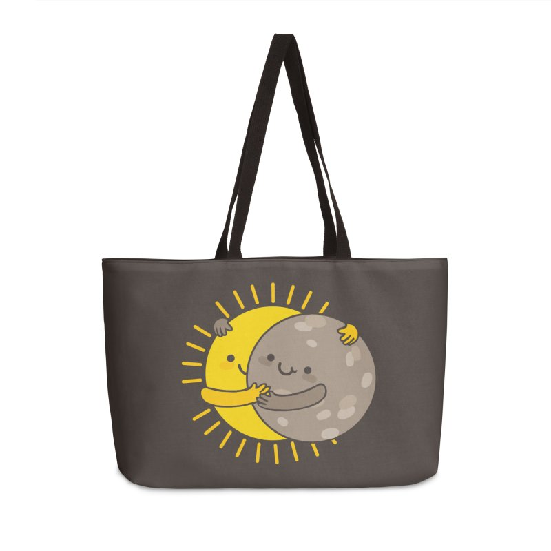 SOLAR ECLIPSE Accessories Weekender Bag Bag by RiLi's Artist Shop