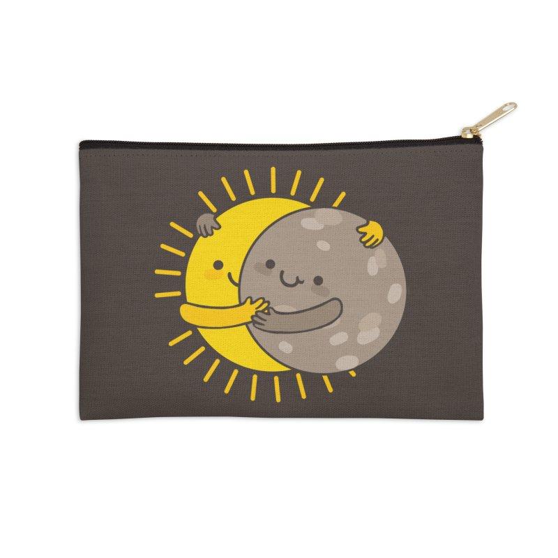 SOLAR ECLIPSE Accessories Zip Pouch by RiLi's Artist Shop