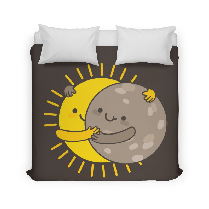 SOLAR ECLIPSE  Home Duvet by RiLi's Artist Shop