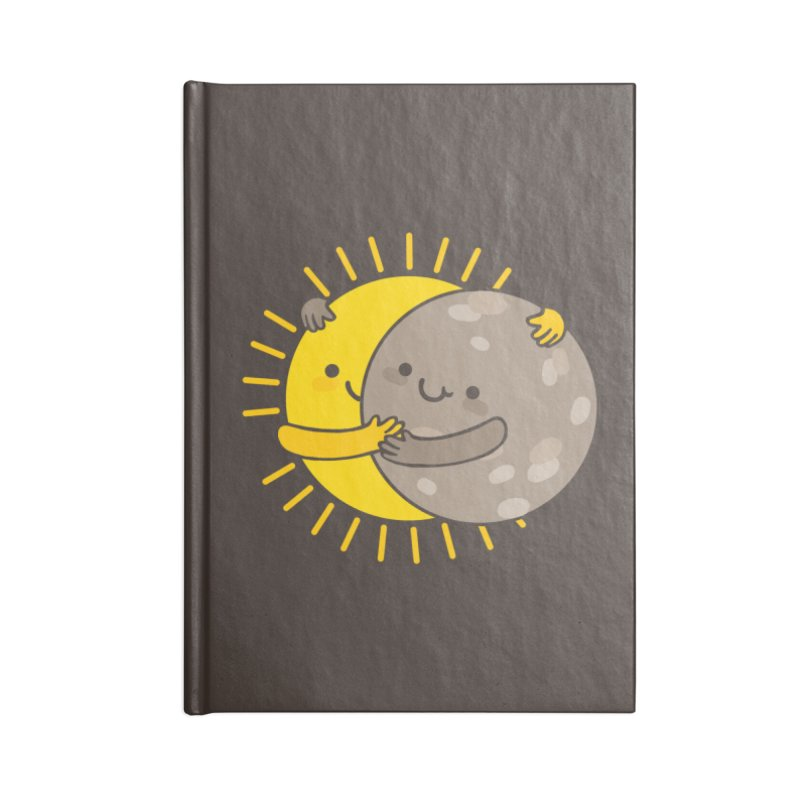SOLAR ECLIPSE Accessories Lined Journal Notebook by RiLi's Artist Shop