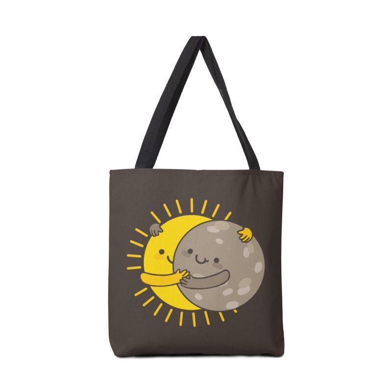 SOLAR ECLIPSE Accessories Tote Bag Bag by RiLi's Artist Shop