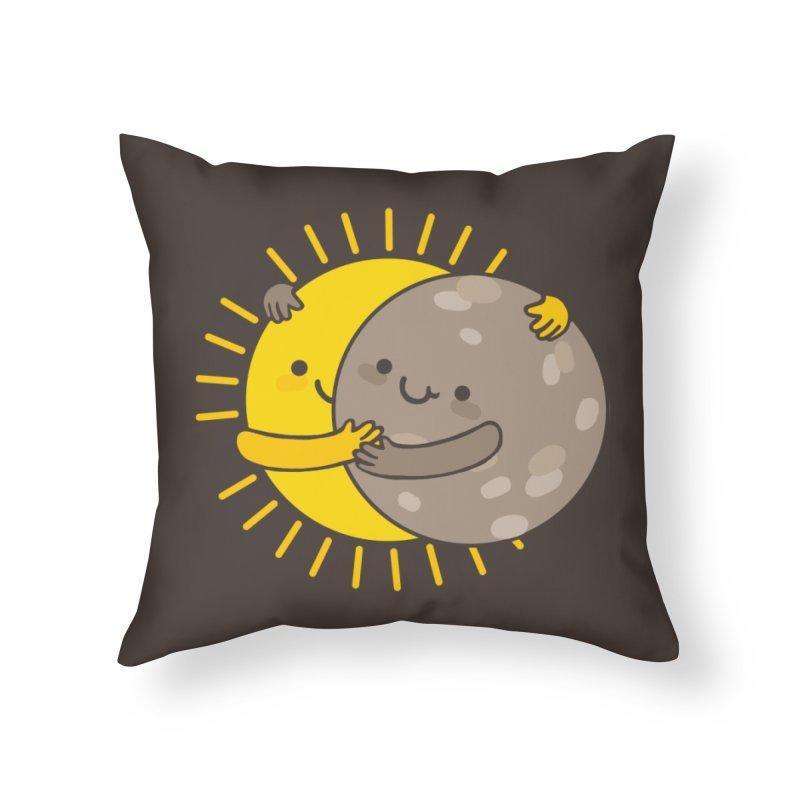 SOLAR ECLIPSE  Home Throw Pillow by RiLi's Artist Shop