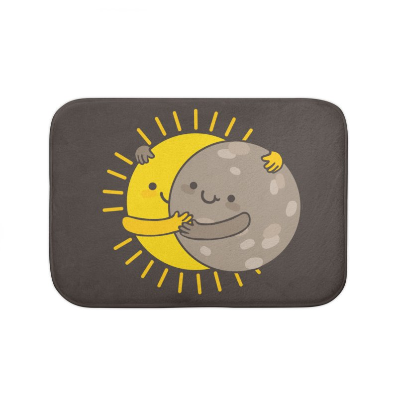 SOLAR ECLIPSE  Home Bath Mat by RiLi's Artist Shop