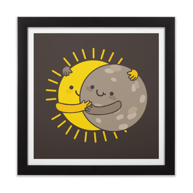 SOLAR ECLIPSE Home Framed Fine Art Print by RiLi's Artist Shop