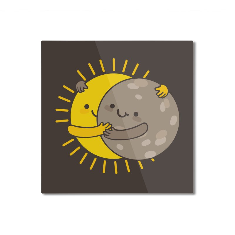 SOLAR ECLIPSE Home Mounted Aluminum Print by RiLi's Artist Shop