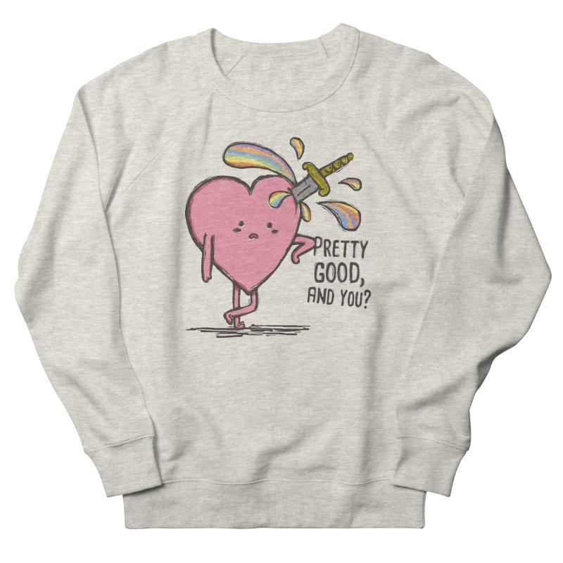 FRIZZY LOVE Women's French Terry Sweatshirt by RiLi's Artist Shop