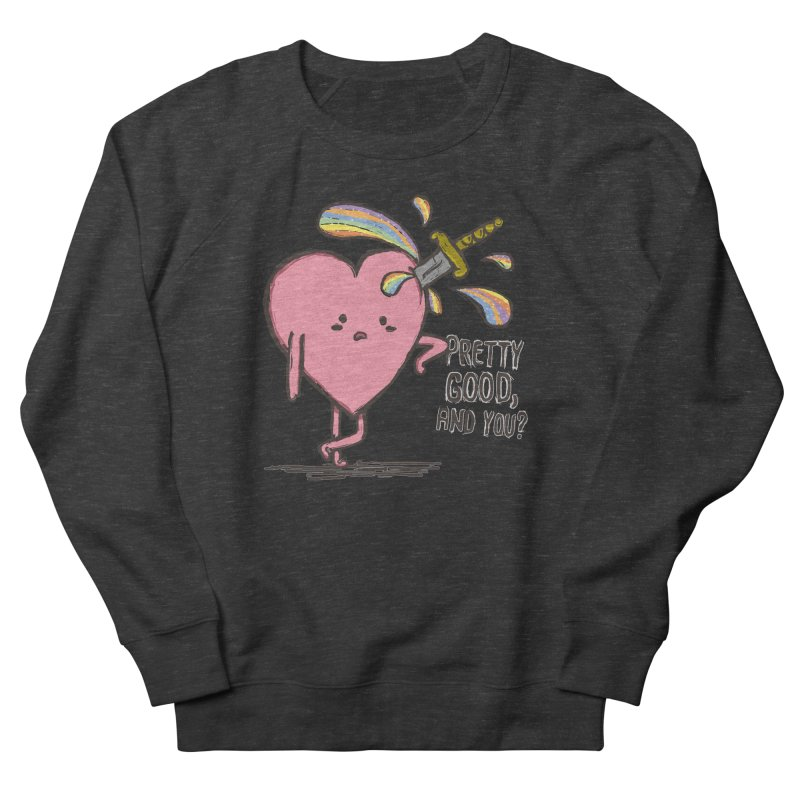 FRIZZY LOVE Men's French Terry Sweatshirt by RiLi's Artist Shop