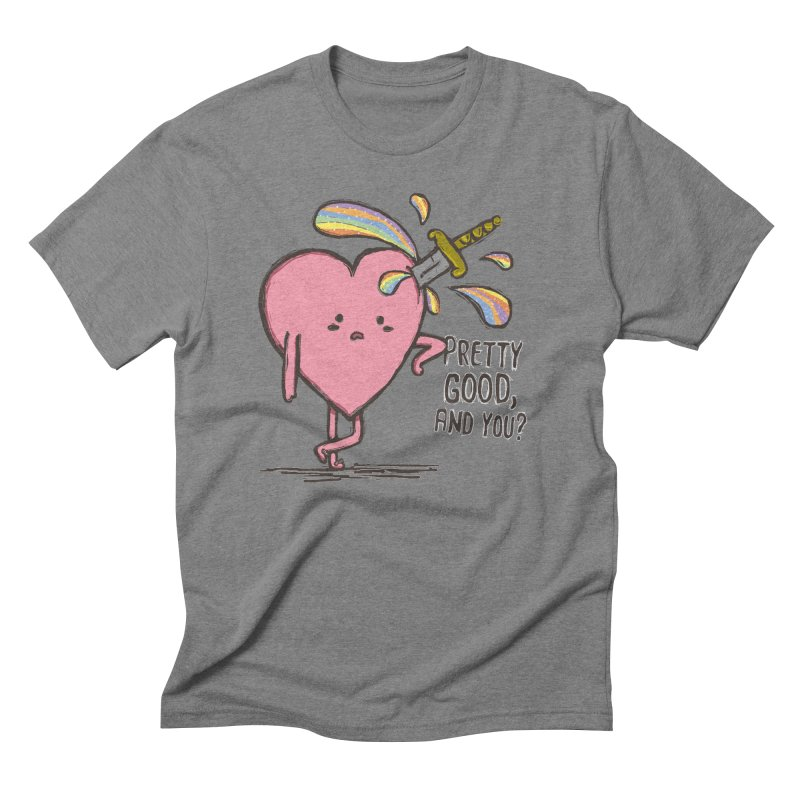 FRIZZY LOVE  Men's Triblend T-Shirt by RiLi's Artist Shop