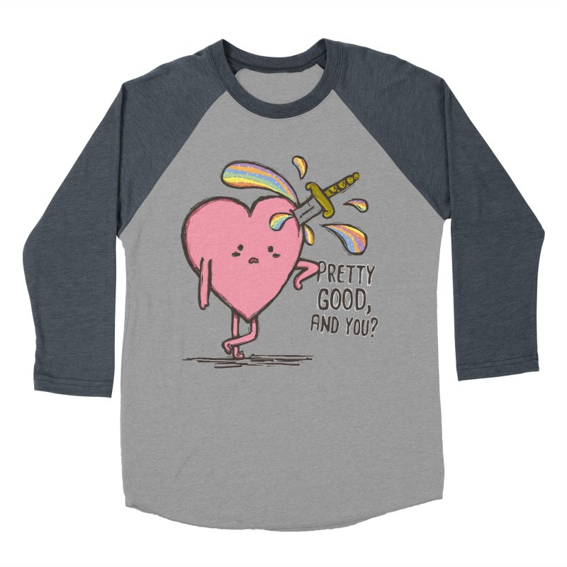 FRIZZY LOVE  Men's Baseball Triblend T-Shirt by RiLi's Artist Shop