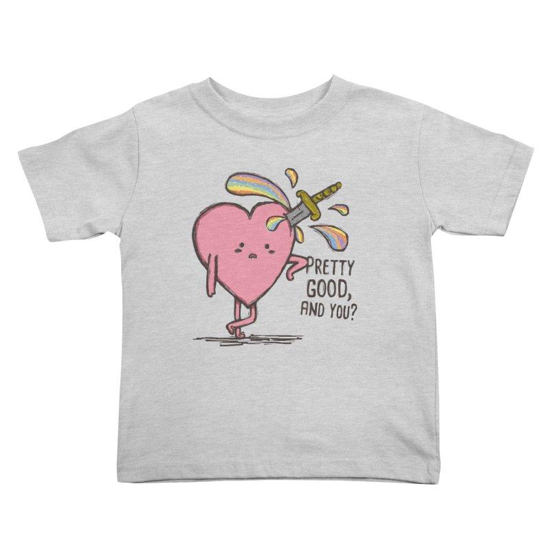 FRIZZY LOVE  Kids Toddler T-Shirt by RiLi's Artist Shop