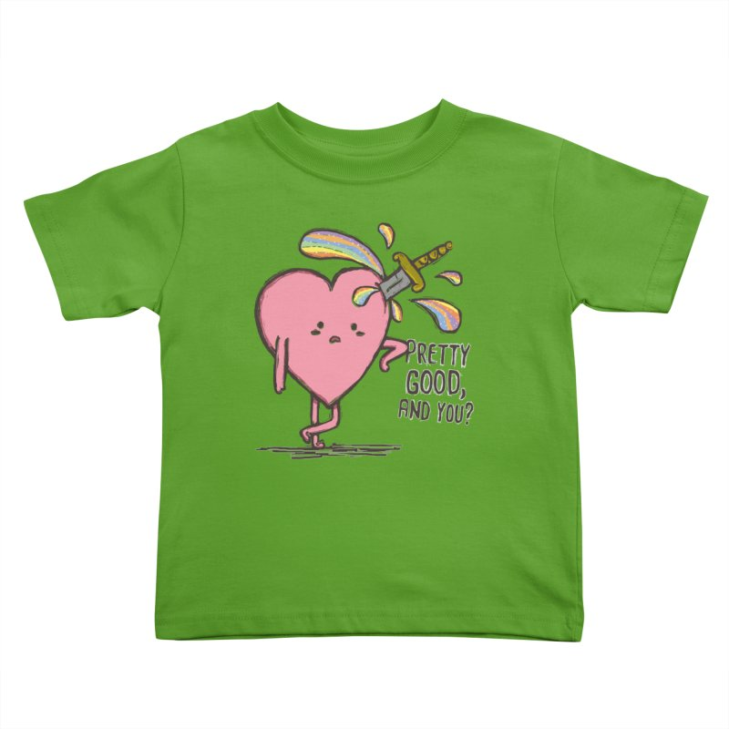 FRIZZY LOVE Kids Toddler T-Shirt by RiLi's Artist Shop