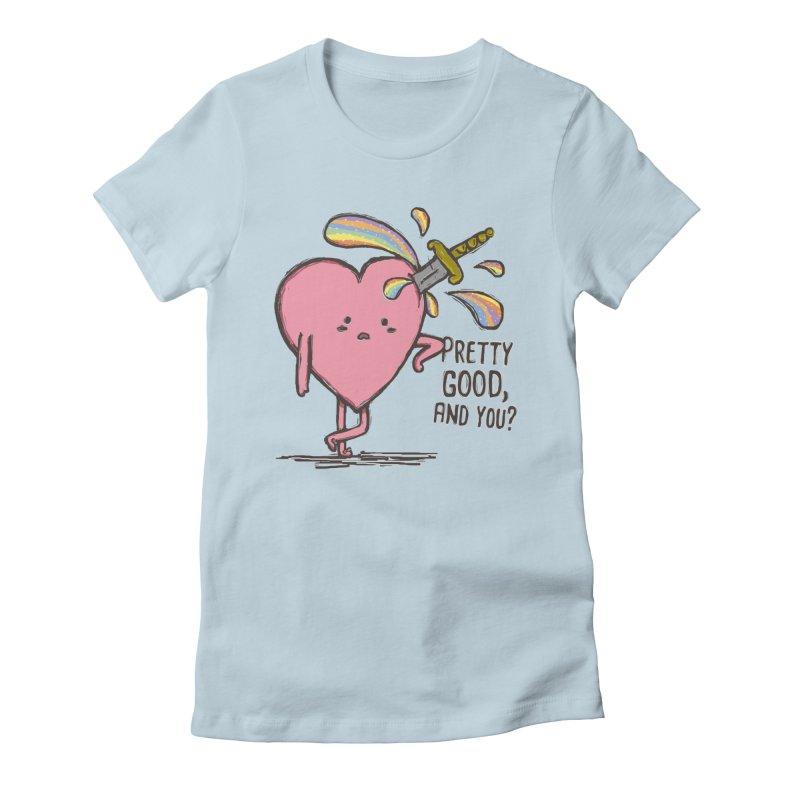 FRIZZY LOVE Women's T-Shirt by RiLi's Artist Shop