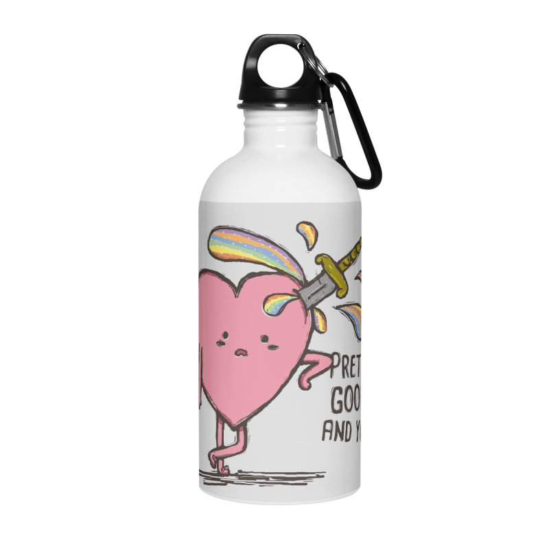 FRIZZY LOVE Accessories Water Bottle by RiLi's Artist Shop